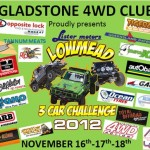 Lister Motors Lowmead 3 Car Challenge – 4×4 Competition, QLD