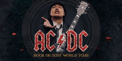 Win 2 Tickets to AC/DC Rock or Bust World Tour