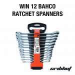 Win 12 Bahco Ratchet Spanners