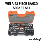 Win a 53 Piece Bahco Socket Set
