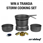 Win an Ultralight Trangia Storm Cooking Set