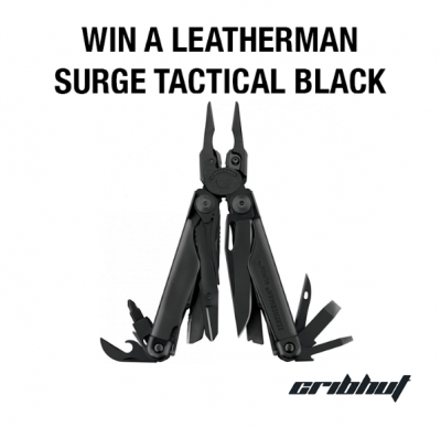 Win a Leatherman Surge Tactical Black
