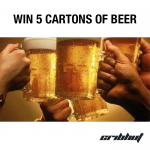 Win 5 Cartons of Beer